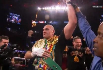 WATCH: Tyson Fury dominates Deontay Wilder to claim WBC heavyweight crown