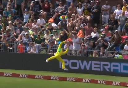 Steve Smith produces fielding masterclass in second T20
