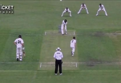 Up and coming Aussie wicketkeeper gets a wicket with first over in ANY format!