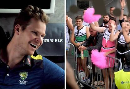 WATCH: Documentary sneak peek reveals the incredible abuse the Aussies copped during the Ashes