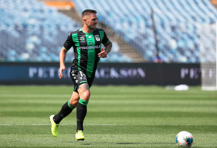 Josh Risdon on the ball