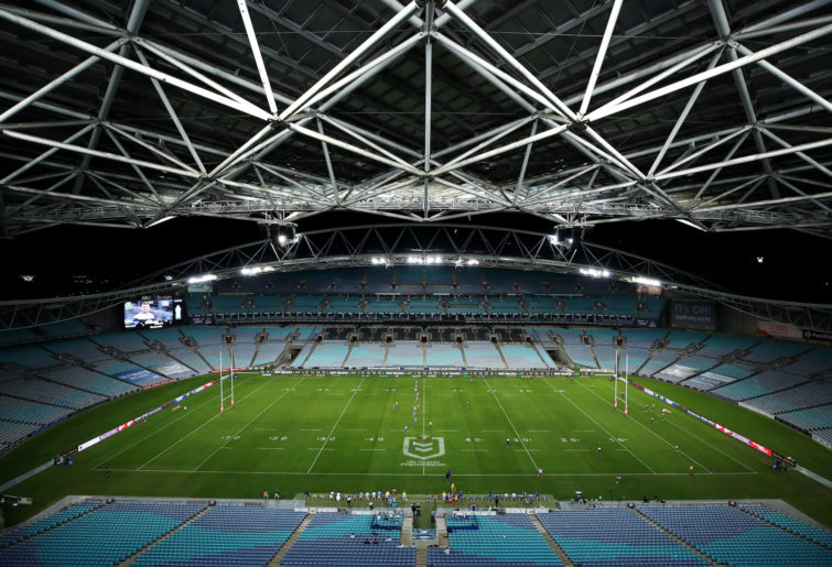 ANZ Stadium empty