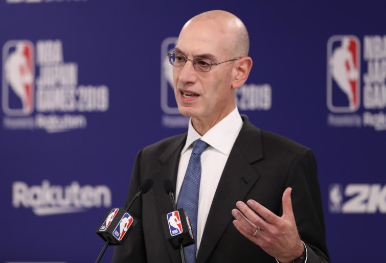 Commissioner of the National Basketball Association (NBA) Adam Silver