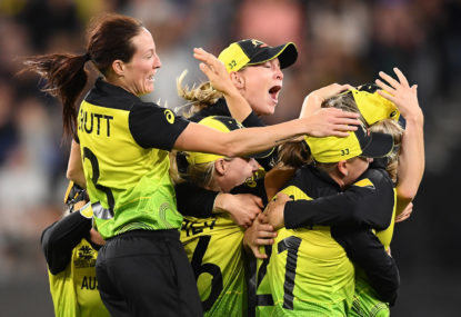 Australia dominate for fifth World Cup