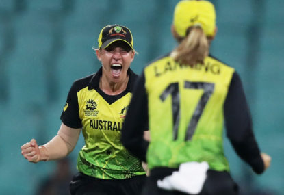 Nerveless Aussies dodge rain on way to World Cup final