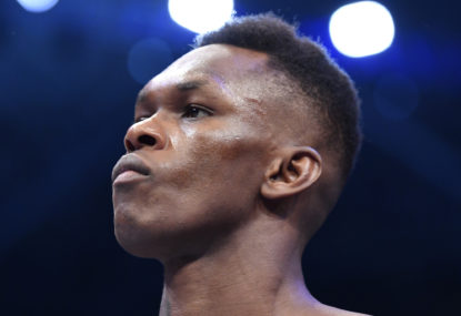 Israel Adesanya is fulfilling the promise made by the very first UFC