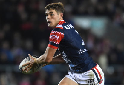 North Queensland Cowboys vs Sydney Roosters: NRL live scores