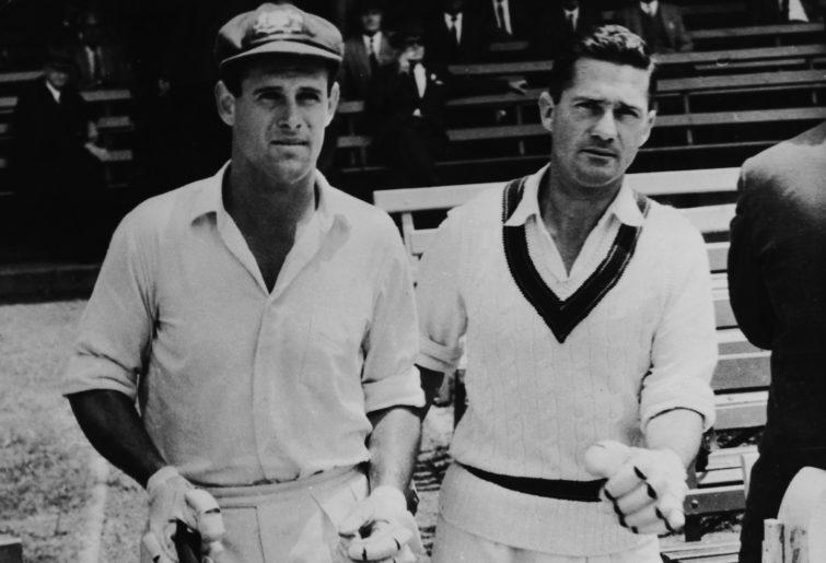 Norm O'Neill and Neil Harvey.