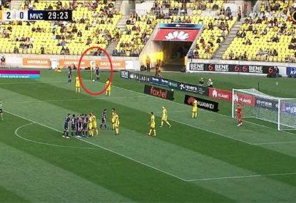 Did the Victory just produce the worst set piece ever seen in the A-League?