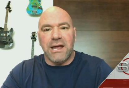 Dana White explains why UFC was forced into the inevitable postponements