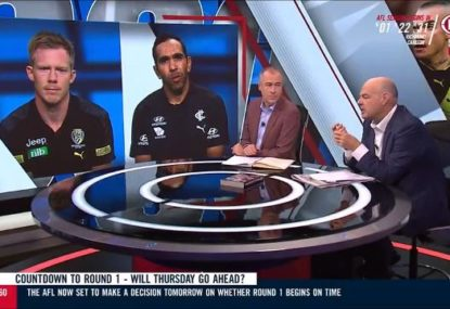 Jack Riewoldt hits back at Mark Robinson over AFL players' pay cut controversy