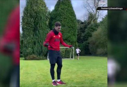 Man Utd players' COVID-19 self-isolation antics go hilariously wrong