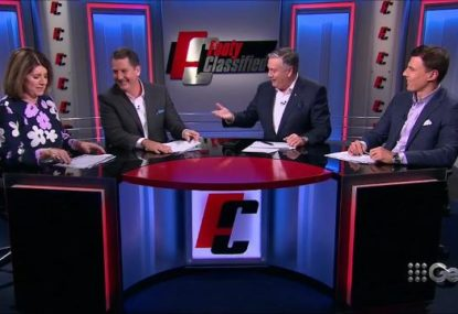 Eddie McGuire forgets basic new healthcare rule in on-air blunder