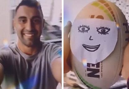 Alex Johnston's brilliant TikTok on missing rugby league is all of us right now