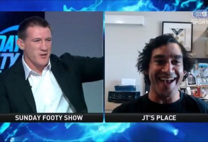 Paul Gallen accuses JT of peak alpha move in Facetime interview