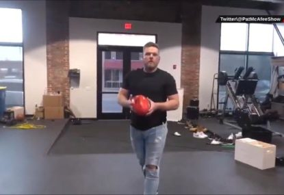 AFL's new American superfan's audition tape is... actually pretty impressive