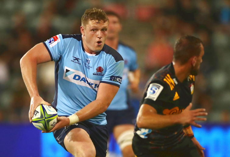Angus Bell of the Waratahs