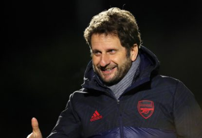 How Melbourne native Joe Montemurro became Arsenal manager