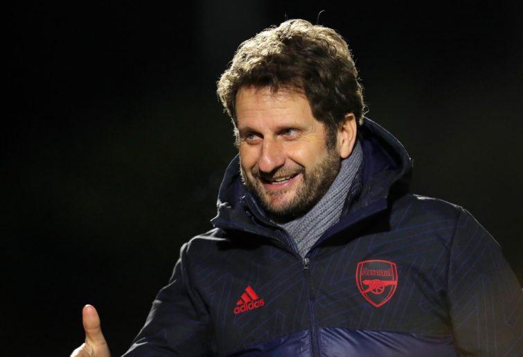 Arsenal Women manager Joe Montemurro