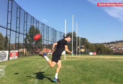 Check out these impressive Aussie Rules trickshots