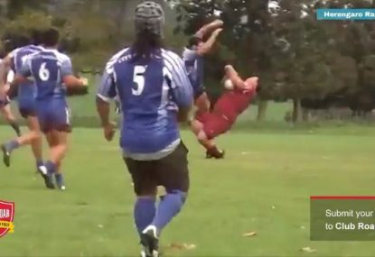 The BIGGEST amateur footy hits of ALL TIME!