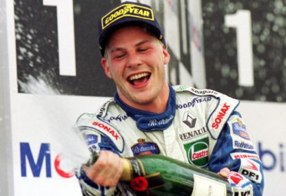 Flashback: Jacques Villeneuve crowned 1997 world champion after Schumacher error