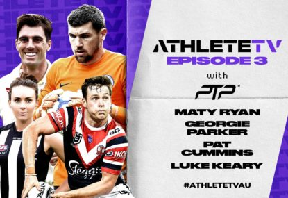 AthleteTV: At home with Pat Cummins, Georgie Parker, Luke Keary and Mat Ryan
