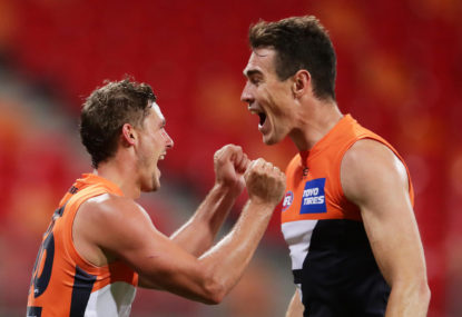 GWS Giants vs North Melbourne Kangaroos: AFL live scores