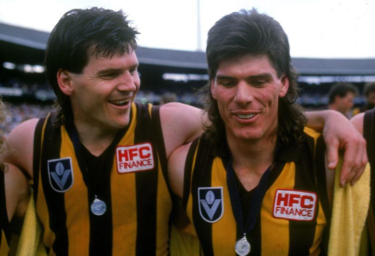 Jason Dunstall and Gary Ayres