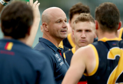 Crows handed another lesson, but it's not all bad news