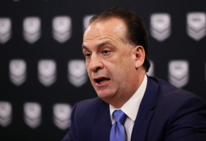 Now that V'landys has fixed the NRL, can he come and fix the cricket?