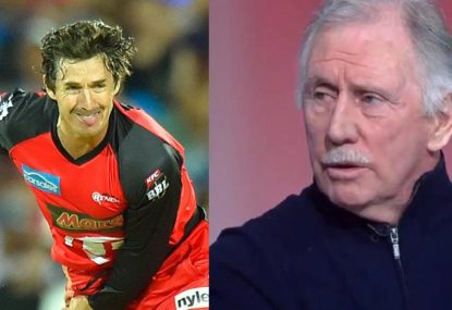 Ian Chappell absolutely savages Brad Hogg's bowling