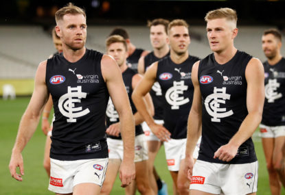 Why are we bashing Carlton again?