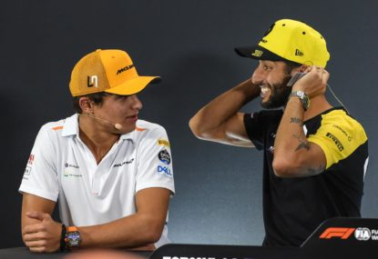 Sainz and Ricciardo's paths cross again in 2021 driver shuffle