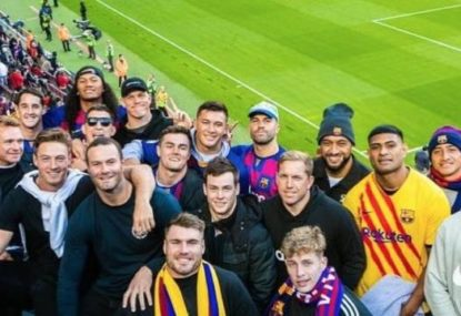 The soccer club that inspired the Roosters 2019 premiership
