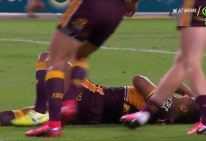 Anthony Milford shows off two months' worth of rustiness to completely 'slaughter' a try
