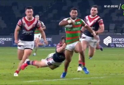 Brett Morris stuns the Bunnies with as good a defensive set as you'll see