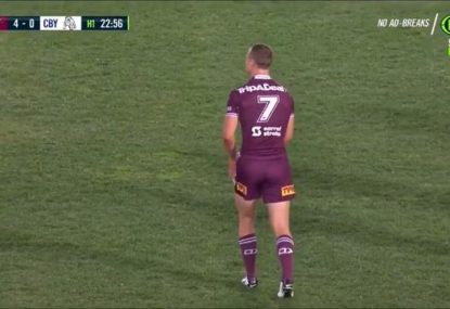 Heartless DCE takes out innocent cardboard cutout fan