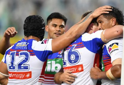 Newcastle Knights vs St George Illawarra Dragons: NRL live scores