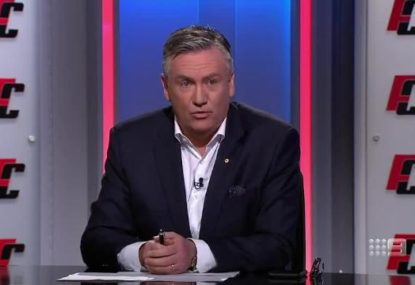 Eddie McGuire is seething that Port Adelaide wants to wear the prison bars