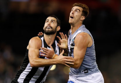 The problem with Collingwood's jumper debate