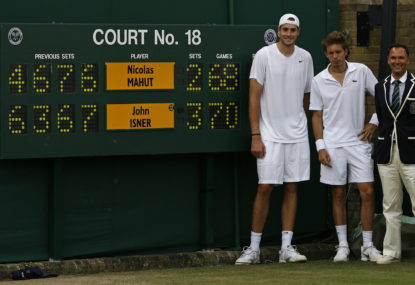 Isner versus Mahut: A decade on from the longest tennis match ever