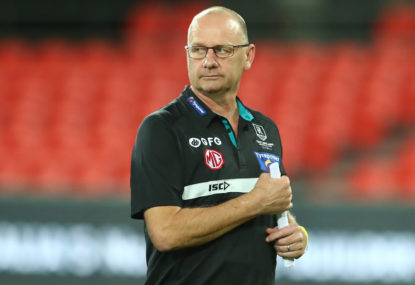 The Power is back in Port Adelaide, and Ken Hinkley's job is safe