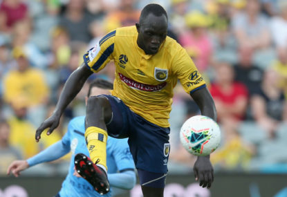 Central Coast Mariners vs Western Sydney Wanderers: A-League live scores