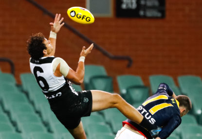 Steven Motlop soars back to his roots