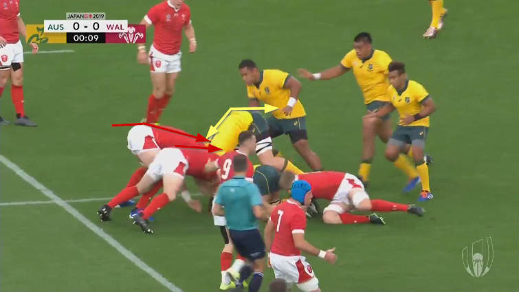 wallabies vs wales breakdown