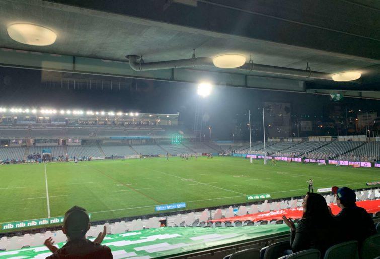 Empty Central Coast Stadium
