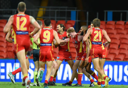 Have the Gold Coast Suns managed to convert local juniors?