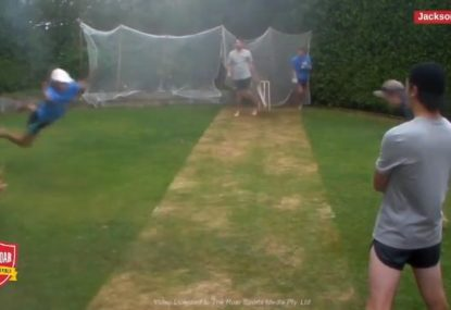 The greatest (and funniest) backyard cricket moments