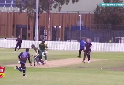 The best and worst local cricket runouts